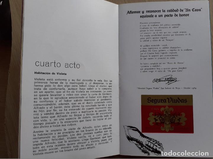Libretos de ópera: PROGRAMA GRAN TEATRO DEL LICEO - TEMPORADA DE OPERA INVIERNO 1969 -70 BARCELONA - CON AUTOGRAFOS - Foto 9 - 206761178
