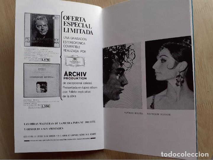 Libretos de ópera: PROGRAMA GRAN TEATRO DEL LICEO - TEMPORADA DE OPERA INVIERNO 1969 -70 BARCELONA - CON AUTOGRAFOS - Foto 14 - 206761178