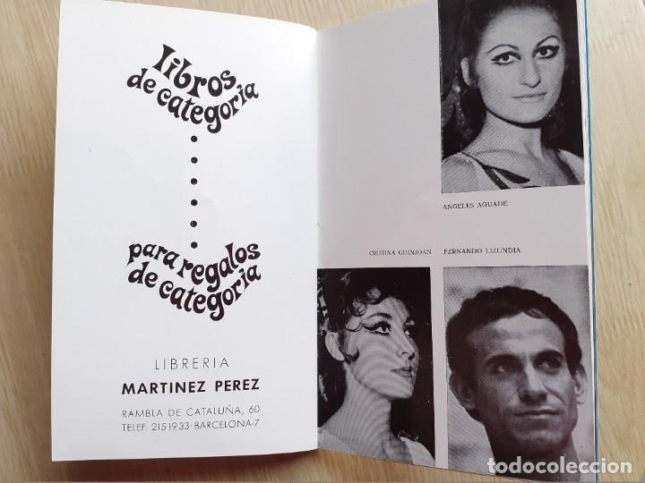 Libretos de ópera: PROGRAMA GRAN TEATRO DEL LICEO - TEMPORADA DE OPERA INVIERNO 1969 -70 BARCELONA - CON AUTOGRAFOS - Foto 15 - 206761178