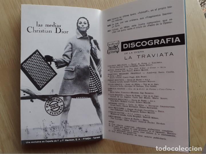 Libretos de ópera: PROGRAMA GRAN TEATRO DEL LICEO - TEMPORADA DE OPERA INVIERNO 1969 -70 BARCELONA - CON AUTOGRAFOS - Foto 18 - 206761178