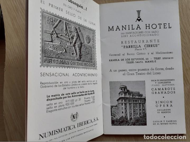 Libretos de ópera: PROGRAMA GRAN TEATRO DEL LICEO - TEMPORADA DE OPERA INVIERNO 1969 -70 BARCELONA - CON AUTOGRAFOS - Foto 4 - 206761891