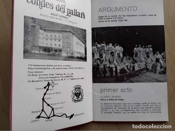 Libretos de ópera: PROGRAMA GRAN TEATRO DEL LICEO - TEMPORADA DE OPERA INVIERNO 1969 -70 BARCELONA - CON AUTOGRAFOS - Foto 6 - 206761891