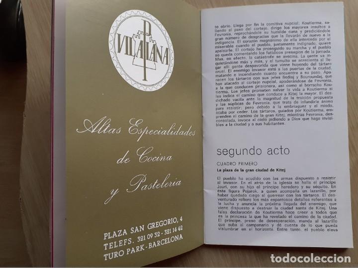 Libretos de ópera: PROGRAMA GRAN TEATRO DEL LICEO - TEMPORADA DE OPERA INVIERNO 1969 -70 BARCELONA - CON AUTOGRAFOS - Foto 8 - 206761891