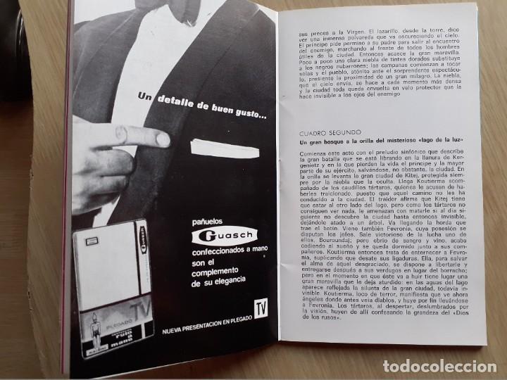 Libretos de ópera: PROGRAMA GRAN TEATRO DEL LICEO - TEMPORADA DE OPERA INVIERNO 1969 -70 BARCELONA - CON AUTOGRAFOS - Foto 9 - 206761891
