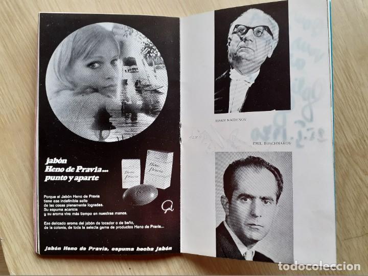 Libretos de ópera: PROGRAMA GRAN TEATRO DEL LICEO - TEMPORADA DE OPERA INVIERNO 1969 -70 BARCELONA - CON AUTOGRAFOS - Foto 10 - 206761891