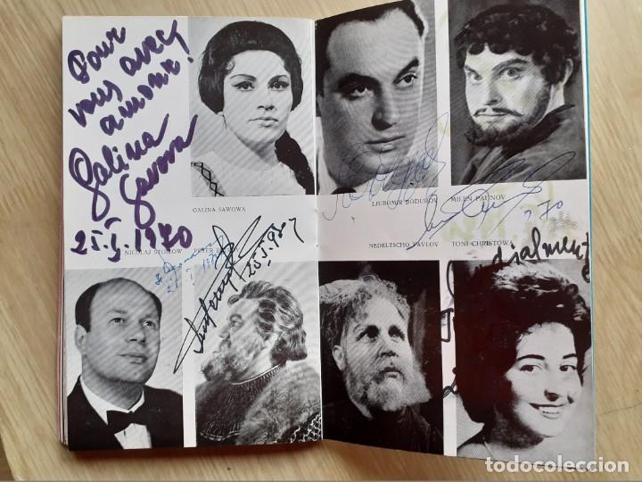 Libretos de ópera: PROGRAMA GRAN TEATRO DEL LICEO - TEMPORADA DE OPERA INVIERNO 1969 -70 BARCELONA - CON AUTOGRAFOS - Foto 11 - 206761891