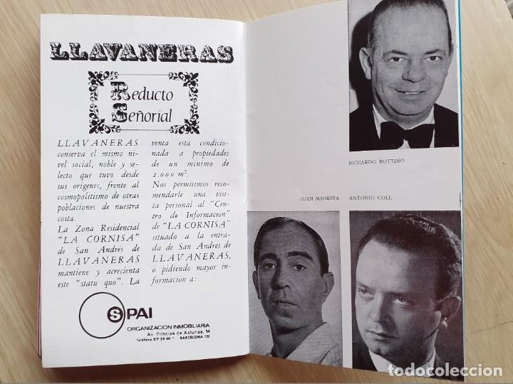 Libretos de ópera: PROGRAMA GRAN TEATRO DEL LICEO - TEMPORADA DE OPERA INVIERNO 1969 -70 BARCELONA - CON AUTOGRAFOS - Foto 12 - 206761891