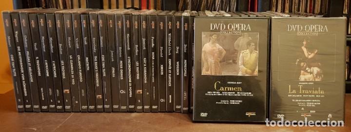 40 DV D OPERA COLECTION DEL PRADO (Música - Libretos de Opera)