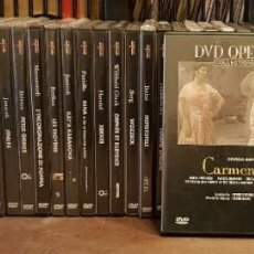 Libretos de ópera: 40 DV D OPERA COLECTION DEL PRADO. Lote 207554493