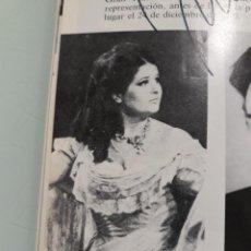 Libretos de ópera: PROGRAMA OPERA CON FIRMA ORIGINAL DE MARIANA NICOLESCO. Lote 216780906