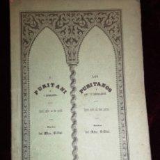 Libretti di opera: OPERA SERÍA EN TRES PARTES - LOS CABALLEROS - MÚSICA - GRAN TEATRO DEL LICEO - BARCELONA 1862. Lote 222911107