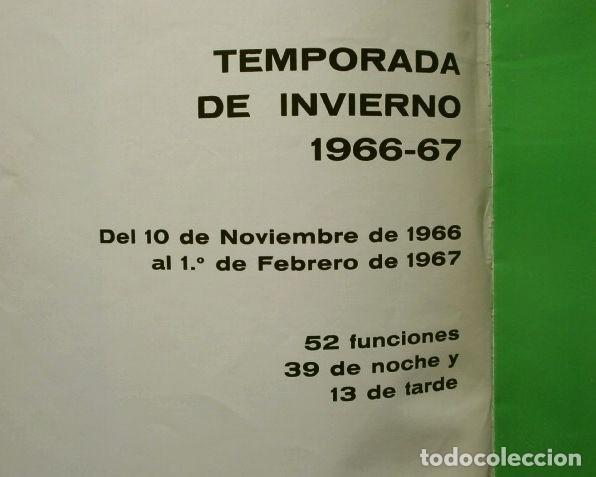 Libretos de ópera: GRAN TEATRO DEL LICEO (1966) VISION DE XX AÑOS DE ACTIVIDAD MUSICAL 1946-66 - JUAN A. PAMIAS - OPERA - Foto 2 - 224366382