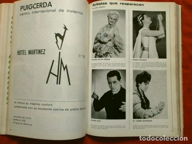 Libretos de ópera: GRAN TEATRO DEL LICEO (1966) VISION DE XX AÑOS DE ACTIVIDAD MUSICAL 1946-66 - JUAN A. PAMIAS - OPERA - Foto 5 - 224366382