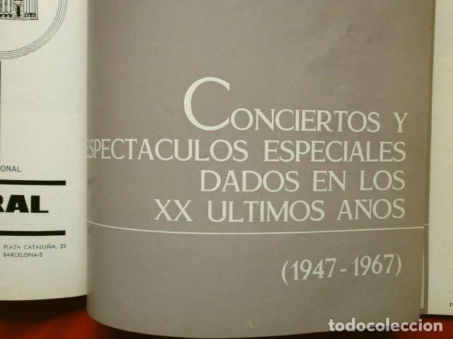 Libretos de ópera: GRAN TEATRO DEL LICEO (1966) VISION DE XX AÑOS DE ACTIVIDAD MUSICAL 1946-66 - JUAN A. PAMIAS - OPERA - Foto 7 - 224366382