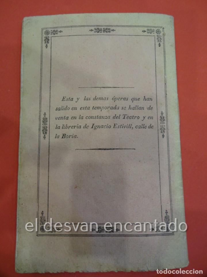 Libretos de ópera: BELISARIO. Libreto Tragedia lírica en tres partes. OPERA. Barcelona. Estampería Estivill. Año 1837 - Foto 4 - 229553325