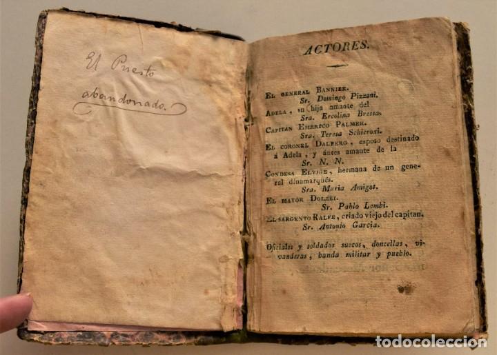 Libretos de ópera: IL POSTO ABBANDONATO - EL PUESTO ABANDONADO - LIBRETO BILINGÜE ÓPERA DE MERCADANTE AÑO 1827 - Foto 4 - 230274010