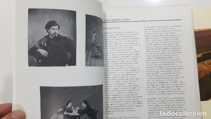 Libretos de ópera: LA BOHÊME. CRONICA DE LA BOHEMIA, PUCCINI EN ESPAÑA, LIBRETO TEATRO DE LA ZARZUELA 1996, CENTENARIO - Foto 7 - 236382645