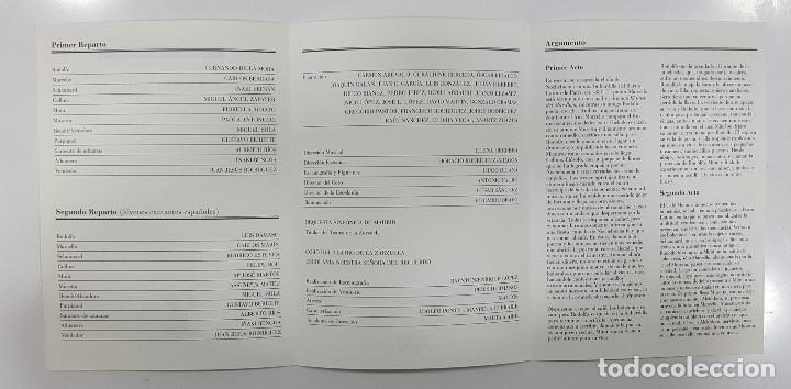 Libretos de ópera: LA BOHÊME. CRONICA DE LA BOHEMIA, PUCCINI EN ESPAÑA, LIBRETO TEATRO DE LA ZARZUELA 1996, CENTENARIO - Foto 13 - 236382645
