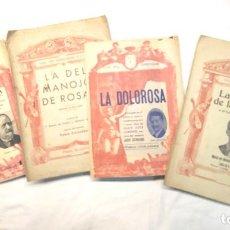 Libretos de ópera: GUIA DEL ESPECTADOR CANCIONERO MARINA, LA DEL MANOJO DE ROSAS, LA DOLOROSA Y LA VERBENA DE LA PALOMA. Lote 244821400