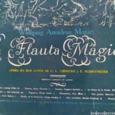 Libretos de ópera: DISCOS*VINILOS*LOTE DE 4 ÓPERAS* UNA CON ESTUCHE-ENCUADERNACION, CON LIBRETO, 12 DISCOS.. Lote 252326525