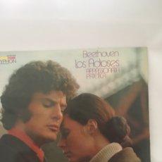 Libretos de ópera: DISCO DE VINILO LP BEETHOVEN LOS ADIOSES. Lote 263235905