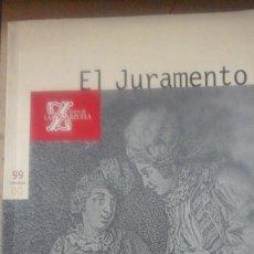 Libretos de ópera: JOAQUÍN GAZTAMBIDE: EL JURAMENTO. ZARZUELA EN TRES ACTOS. ENSAYOS Y LIBRETO (MADRID, 1999). Lote 269128433