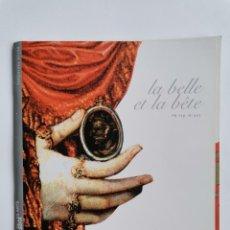 Libretos de ópera: LA BELLE ET LA BÊTE PHILIP GLASS. Lote 277258653