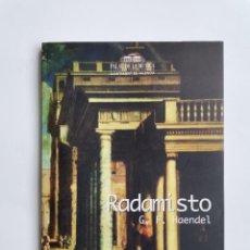 Libretos de ópera: RADAMISTO G. F. HAENDEL. Lote 277258903