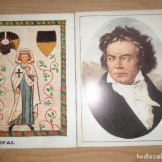 Libretti di opera: PRO MUSICA - PARSIFAL / CICLO BEETHOVEN - 2 REVISTAS CLASICA / OPERA - DISPONGO DE MAS REVISTAS. Lote 283306388