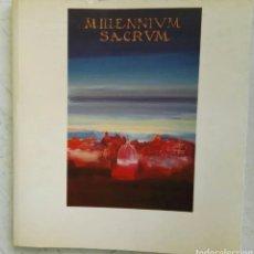 Libretos de ópera: MILLENNIVM SACRVM FESTIVAL DE MÚSICA SACRA DE VALENCIA 1999. Lote 287581608