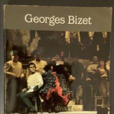 Libretos de ópera: GEORGES BIZET. ÓPERA CARMEN. PARTITURA COMPLETA ORQUESTA. Lote 293291683