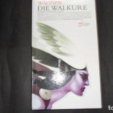 Libretos de ópera: DIE WALKÜRE, WAGNER,LIBRETO Y CD´S, ED. PRISA INNOVA. Lote 293355993