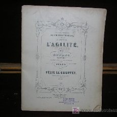 Partituras musicales: ANTIGUA PARTITURA. L'AGILITÉ. 25 ETUDES POUR PIANO. FELIX LE COUPPEY. ED. HAMELLE. PARIS. Lote 26720599