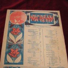 Partituras musicales: SUITE ESPAGNOLE.Nº III SEVILLA (SEVILLANA) DE I.ALBENIZ.OBRAS PARA PIANO.UNION MUSICAL ESPAÑOLA.. Lote 26554546