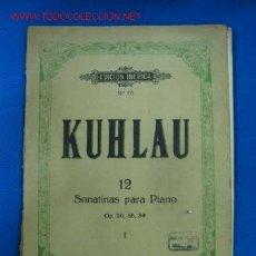 Partituras musicales: PARTITURA MUSICAL. Lote 16154281