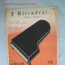 Partituras musicales: PARTITURA. Lote 1162465