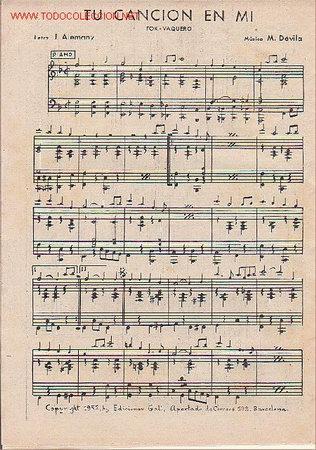 Partituras musicales: MAGNIFICO LIBRETO CON LAS PARTITURAS DE 2 FOX, TU CANCION EN MI Y REFLEJOS DE SOL - Foto 2 - 12639461
