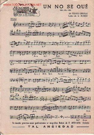 Partituras musicales: MAGNIFICO LIBRETO CON PARTITURAS DE CHA-CHA-CHA UN NO SE QUE DE P. OROZCO Y MI TUMBADORA DE L. RIVAS - Foto 2 - 12639464