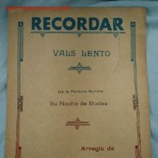 Partituras musicales: PARTITURA MUSICAL. Lote 2226813