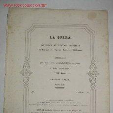 Partituras musicais: SCENA E ARIA ADDIO DEL PASATO BEI SOGNI RIDENTI, DE LA TRAVIATA, DE VERDI, PARA PIANO. Lote 26902154