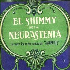 Partituras musicales: EL SHIMMY DE LA NEURASTENIA. Lote 175225443