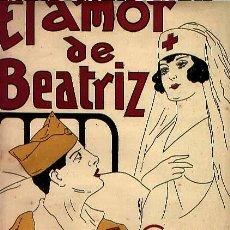 Partituras musicales: EL AMOR DE BEATRIZ DE JACINTO GUERRERO. Lote 32697837
