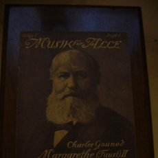 Partituras musicales: PARTITURA ANTIGUA - MARGARETHE II FAUST - CHARLES GOUNOD. Lote 16529593