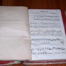 Partituras musicales: ANTIGUO LIBRO PARTITURAS L.V. BEETHOVEN SONATA XXVII SIGLO XIX ~ GASTOS INCLUIDOS. Lote 28198691