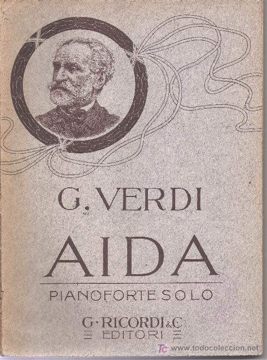 GIUSEPPE VERDI OPERA COMPLETA CANTO E PIANOFORTE,PIANO FORTE SOLO AÑO1871 (Música - Partituras Musicales Antiguas)