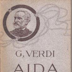 Partituras musicales: GIUSEPPE VERDI OPERA COMPLETA CANTO E PIANOFORTE,PIANO FORTE SOLO AÑO1871. Lote 19388707