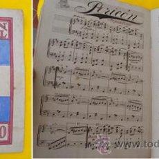 Partituras musicales: PERICÓN NACIONAL ARGENTINO (MANUSCRITO). 1923. Lote 21316125