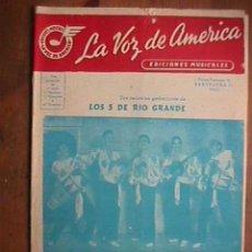 Partituras musicales: PARTITURA DE MIRA COMO VA Y BRUMAS , INDIVIDUALIZADA PARA INSTRUMENTOS. Lote 22381658