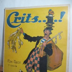 Partituras musicales: PARTITURA CRITS FOX- TROT -. Lote 22517057