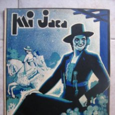 Partituras musicales: PARTITURA . MI JACA. PASODOBLE. MUSICA J. MOSTAZO. BONITA PORTADA .. Lote 23665550